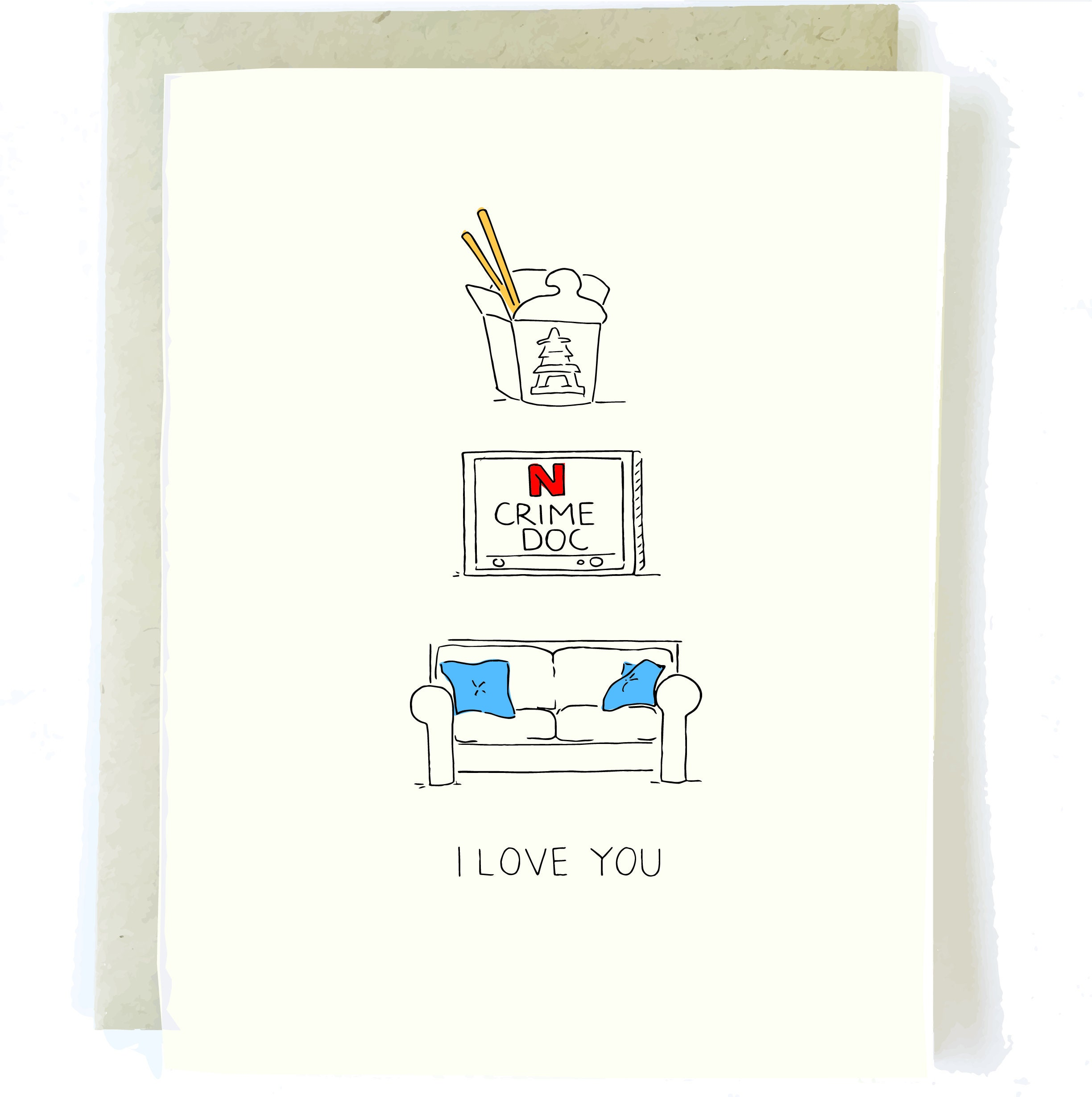 Reasons I Love You | Funny Love Card, Best Friend Card, Boyfriend Card,  Boyfriend Birthday Card, Take Out Card, Card for Him,