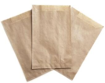 258954d39a Kraft Eco Paper Bags - Natural Favor Treat Sacks, Retail Merchandise  Packaging, Food Grade Bakery Bags, Cookies Candy Buffet