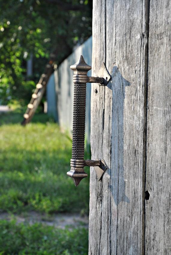Wrought Iron Handle Front Door Handles Forged Door