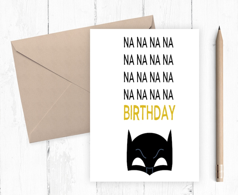 picture about Batman Printable Birthday Card named Batman Birthday Card, Superhero Birthday Card, Boys Birthday Card, Tremendous Hero Printable, Humorous Birthday Card, Immediate Down load