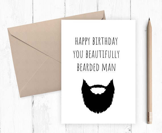 Happy Birthday Card For Husband Happy Birthday Card For Etsy