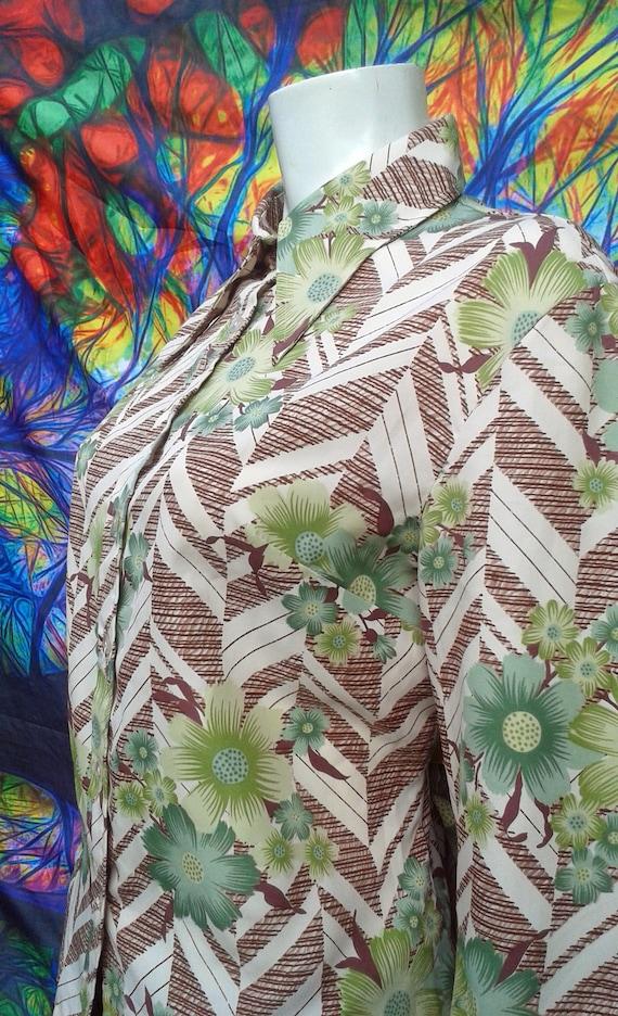 Vintage 1970's Dagger Collar Shirt