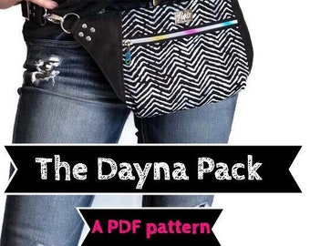 Dayna Pack PDF sewing pattern, Linds Handmade Designs DIY fanny pack