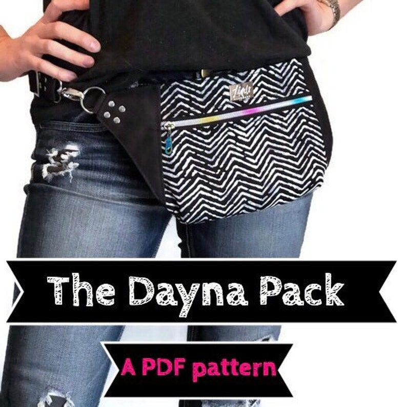 Dayna Pack PDF sewing pattern Linds Handmade Designs DIY image 0