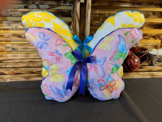 Butterfly pillows (12 inch)