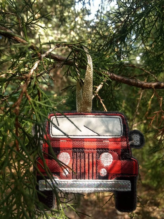 Off-road vehicle ornaments
