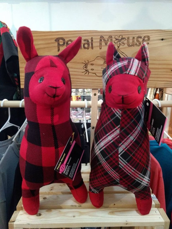 Stuffed llama and Alpaca