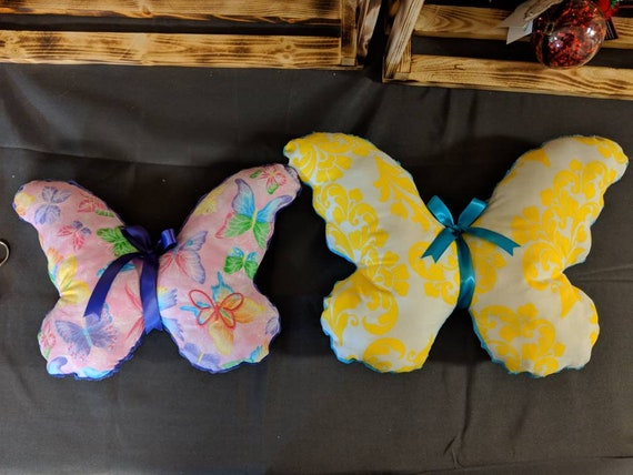Butterfly pillows (10 inch)