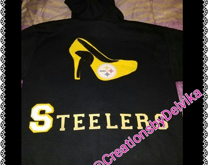 Custom NFL High heel Themed Hoodie