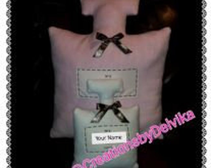 Perfume Shaped Pillows