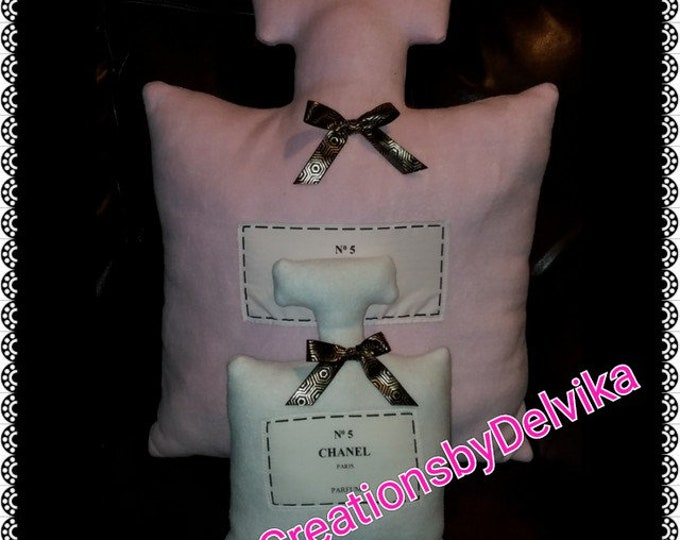 CoCo Chanel Decorative Pillows
