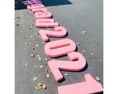Grad 2021 Pool Float Pool Decoration Floating Prop Letters - #grad2021 decor
