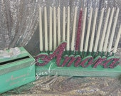 Sweet 16 Candelabra set includes candles and card box, Quinceanera & Mitzvah Candle Lighting Centerpiece
