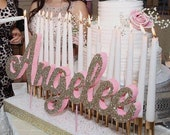 Free Ship! Sweet 16 Candelabra, Quinceanera & Mitzvah Candle Lighting Centerpiece