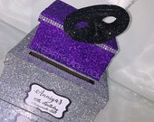 Two-Tier Card Box Glitter...