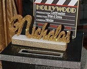 Hollywood Oscar Movie Theme Sweet 16 Quince Confirmation Mitzvah Card Box! GORGEOUS!!
