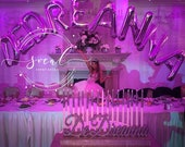 Sweet 16 Candelabra, Quinceanera & Mitzvah Candle Lighting Centerpiece - Large Size