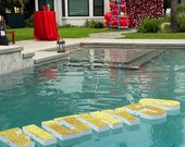 Pool Float Pool Decoration Floating Prop Letters Saying —per letter