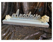 USA Made! Sweet 16 Candelabra, winter wonderland snowflake Quinceanera & Mitzvah Candle Lighting Centerpiece