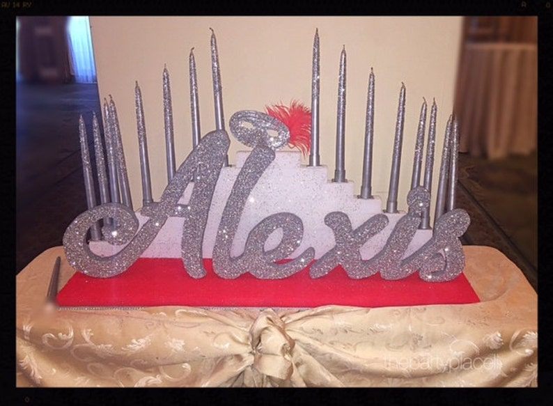 Step Tiered Candelabra Candle Lighting  Extra Large with image 0