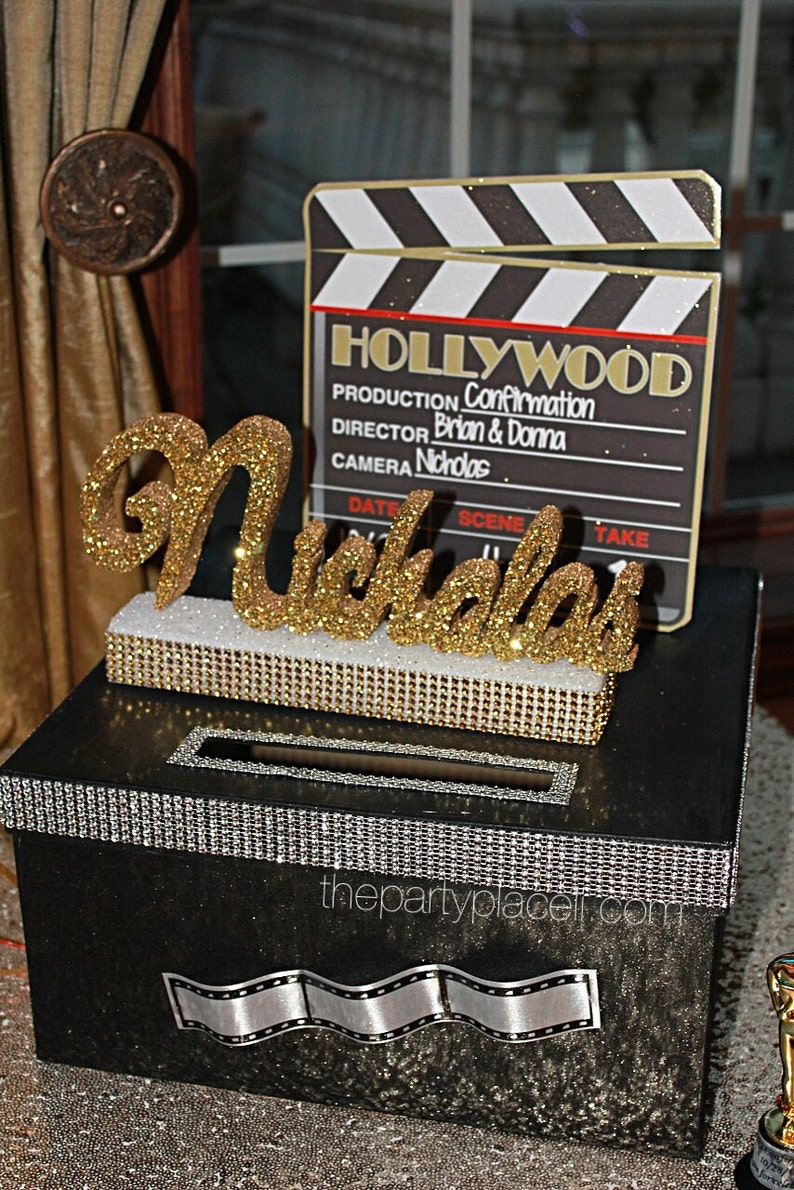 Hollywood Oscar Movie Theme Sweet 16 Quince Confirmation image 0