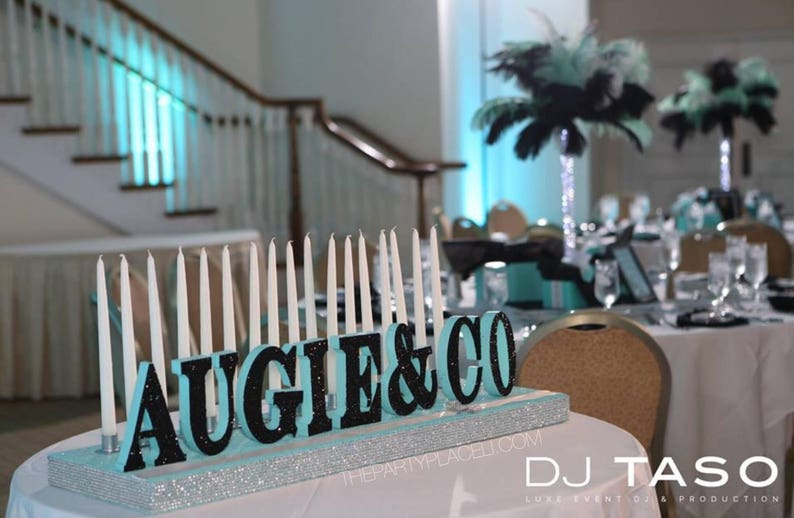 Sweet 16 Candelabra Quinceanera Mitzvah Candle Lighting Etsy