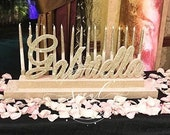 USA Made! Sweet 16 Candelabra, Quinceanera & Mitzvah Candle Lighting Centerpiece - Large Size