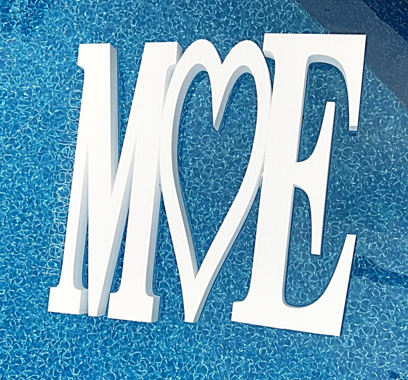 Wedding Pool Party Decoration Floating Prop Giant Numbers or image 0