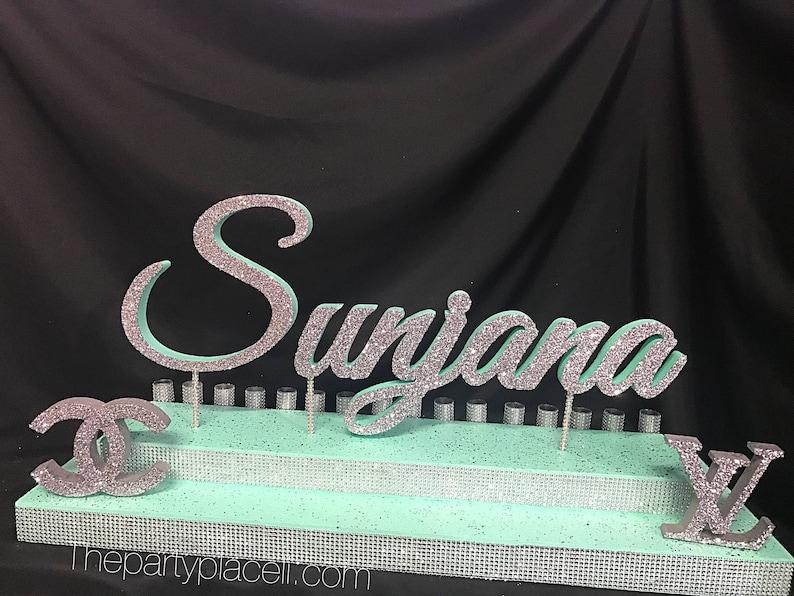 Fashion brands shopping Sweet 16 Candelabra & Mitzvah Candle image 0