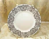 Waterford Lismore Lace Platinum Salad Desert 8 quot Plate Fine Bone China