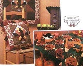 Simplicity Halloween Thanksgiving Quilt Pattern Uncut Simplicity 9788 Shirley Botsford Pillow Sham,Quilt,Wall Hanging Holiday Sewing