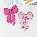 Hand Drawn Bow Die Cuts (perfect for ECLP, Happy Planner, Filofax, Travelers Notebooks, Kikki K, Passion Planner, etc.)