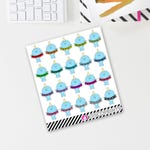 Ned Fuck This Banner (20 matte stickers, for ECLP, Happy Planner, Filofax, Travelers Notebooks, Kikki K, Passion Planner, etc.)
