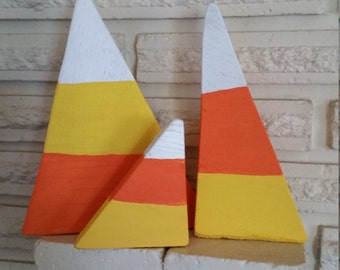 Handmade Decorative Holiday Candy Corn