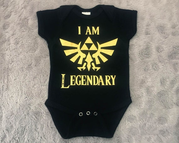 Ropa Body Costilla Bebé Infantil Regalo Leyenda de Zelda Trifuerza wingcrest Crest