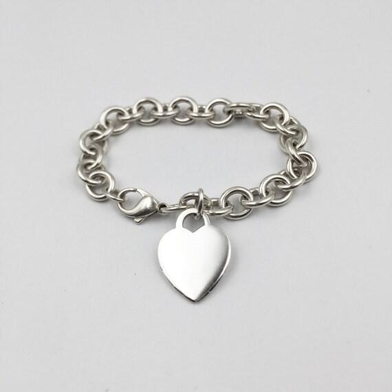 89af3ce464c Tiffany RETURN to TIFFANY Heart Tag Bracelet