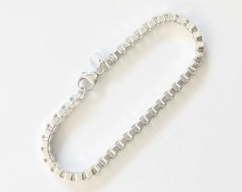 Tiffany Silver Venetian Link Bracelet