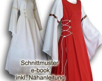 e-book Schnittmuster Mittelalterkleid S-XXL