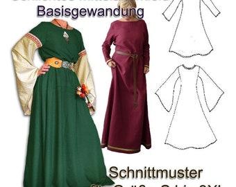 Schnittmuster e-book Mittelalterkleid