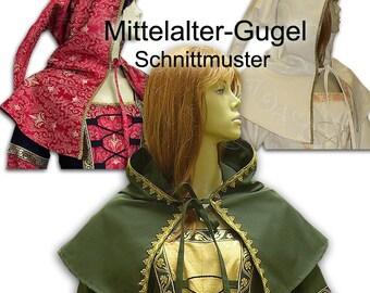 Schnittmuster Mittelalter Gugel