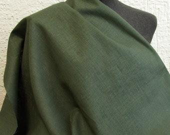 Leinen waldgrün 50cm
