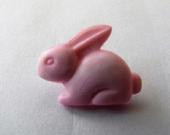 Baby girl pale pink  Rabbit Shank Button x 10 size 15mm suitable for baby knitwear