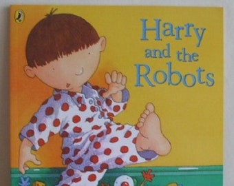 Harry and the Dinosaurs Harry and the Robots by Ian Whybrow New Paperback book Childrens Fiction Picture Book Bedtime Story Book