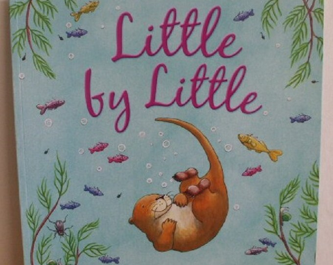 Little by Little by Amber Stewart New Paperback book Childrens Fiction Picture Book Bed time Story Book