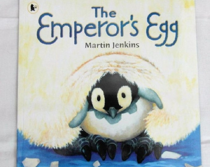Emperor's Egg by Martin Jenkins New Paperback book Childrens NON Fiction Picture Book Penguin Lifecycle Story