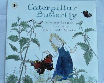 Caterpillar Butterfly by Vivian French New Paperback book Childrens NON Fiction Picture Book Life cycle