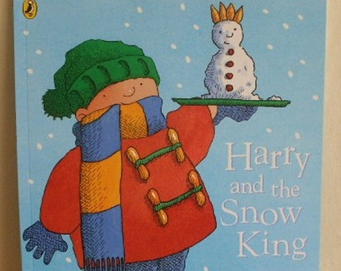 Harry and the Snow King by Ian Whybrow New Paperback book Childrens Fiction Picture Book Bedtime Story Book