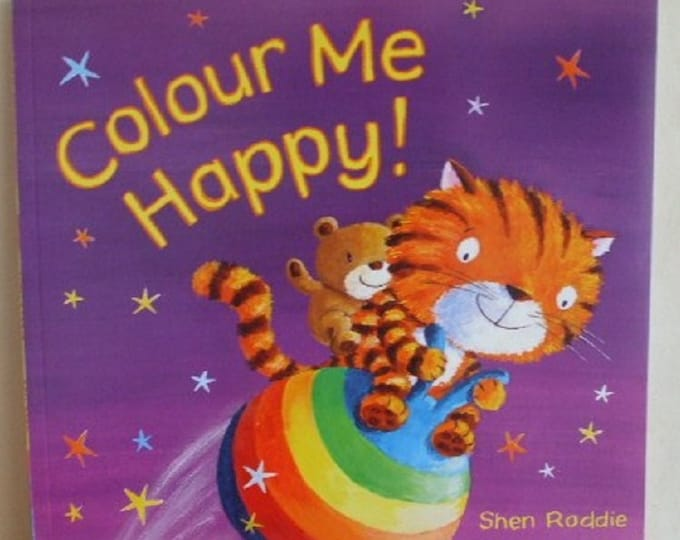 Colour Me Happy by Shen Roddie New Paperback book Childrens Fiction Picture Book Bed time Story Emotion Story