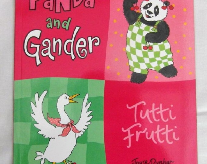 Tutti Frutti by Joyce Dunbar Pander and Gander New Paperback book Childrens Fiction Picture Book Bed time Story Book
