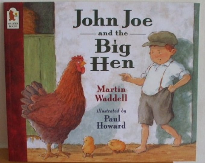 John Joe and the Big Hen by Martin Waddell New Paperback book Childrens Fiction Picture Book Bed time Story Book